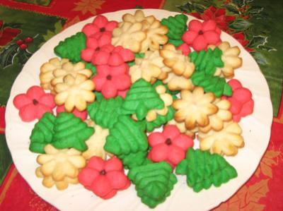 Cream Cheese Christmas Cookies