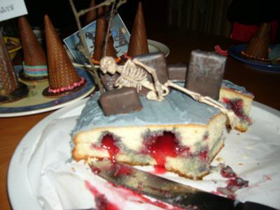 Grave Yard Cake