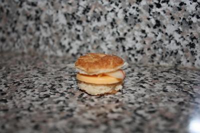 Tiny Hamster Sandwich
