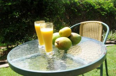 My mango smoothie