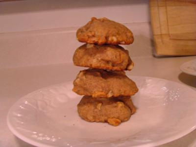 Leaning Tower of Banana Cookies
