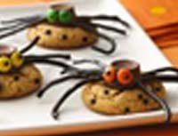 Easy Spotted Spider Cookies